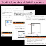 Following Rules And Manners When Using ZOOM | Social Skills Story & Activities