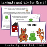 Freddy Frog's Frustration Story | Social Skills Story & Activities