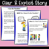 I Can Be Flexible! | For K-2nd | Social Skills Story & Activities