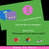 Conversation PowerPoint Slideshow Activity || Asking Questions In A Conversation
