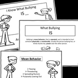 I Know What Bullying Is...And Isn't  || Social Story Skill Builder