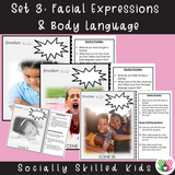 Perspective Taking Photo Activity Cards | Pack 2 | What Are They Feeling? & What Message Are They Sending?