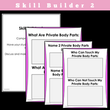 SOCIAL STORY SKILL BUILDER || My Body, Its Private And Not-So-Private Parts || For Girls