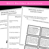 I Can Stop Blurting || SOCIAL STORY SKILL BUILDER || For Boys 3rd-5th Grade