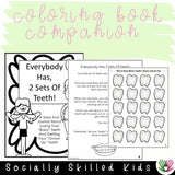 Everybody Has 2 Sets of Teeth | Social Skills Story and Activities
