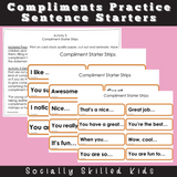 Complimenting Others and Compliment Starters | PERSPECTIVE TAKING ACTIVITIES