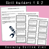 I Can Share Myself With Lots of Friends! || SOCIAL STORY SKILL BUILDER