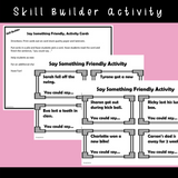 I Can Use Friendly Words || SOCIAL STORY SKILL BUILDER || For K-2nd Grade