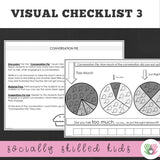 Questions, Comments and Connections || Visual Checklists and Activities