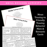 I Can STOP Teasing || SOCIAL STORY SKILL BUILDER || For K-2nd Grade