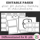 Emotions I.D Activities || For K-5th