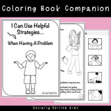 I Can Use Helpful Strategies | Social Skills Story & Activities For K-2nd Grade