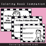It's Okay To Make Mistakes |Social Skills Story & Activities | For Boys K-2nd