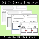 Timeline Templates | 50 Differentiated Templates