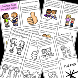 SOCIAL STORY MINI BOOKS || 10 Social Stories For Basic School Skills