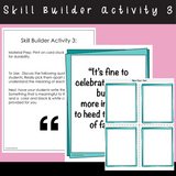 It's Okay To Make Mistakes | Social Skills Story & Activities | For 3rd-5th Grade or Ability Level