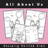 ALL ABOUT ME and my friends | Social Skills Story & Activities