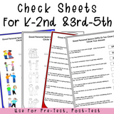 PERSONAL SPACE Behaviors || Differentiated For K-5th Grade