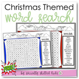 Christmas Themed Word Search | Freebie