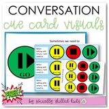 Conversation Cue Cards | Visual Supports