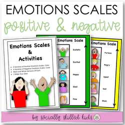 Emotions Scales | Positive And Negative Scales And Activities