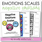 Negative Emotions Scales With Activities | Smiley Faces Themed