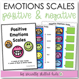 Emotions Scales with Activities | Positive And Negative | Smiley Face Theme