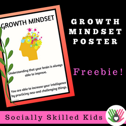 Growth Mindset Poster || Upper Elementary