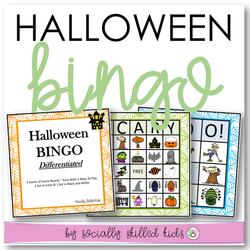 Halloween BINGO! | Differentiated For K-5th