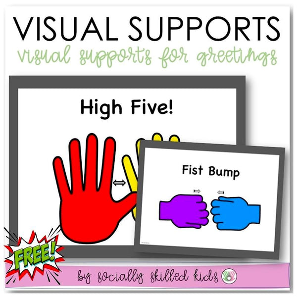 Hand Signal Posters For Non-Verbal Greetings | Freebie
