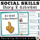 Social Skills Stories And Activities | Pack 7 | Coping Strategies | For 3rd-5th Grade