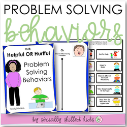 Problem Solving Behaviors | Differentiated Activities For K-5th
