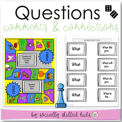 Questions, Comments, and Connections | Differentiated Board Games | For K-5