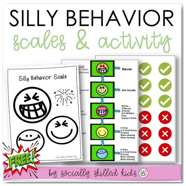 Silly Behavior Scale and Activity | Freebie