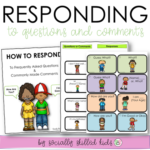 Responding To Frequently Asked Questions & Comments | Conversation Skills