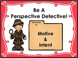 PERSPECTIVE TAKING ACTIVITIES || Pack 3 || Motives & Intentions and Social Scenarios