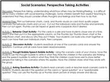 PERSPECTIVE TAKING ACTIVITIES | Pack 3 | Motives & Intentions and Social Scenarios