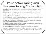 PERSPECTIVE TAKING and PROBLEM SOLVING Activity || Comic Strip Style || 3rd-5th || Color Version