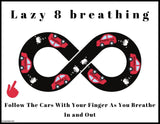 Lazy Eight Breathing Posters | Freebie