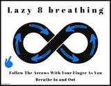 Lazy Eight Breathing Posters || Freebie