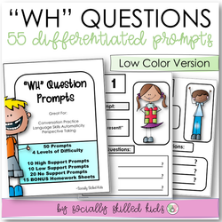"""WH"" Question Prompts 
