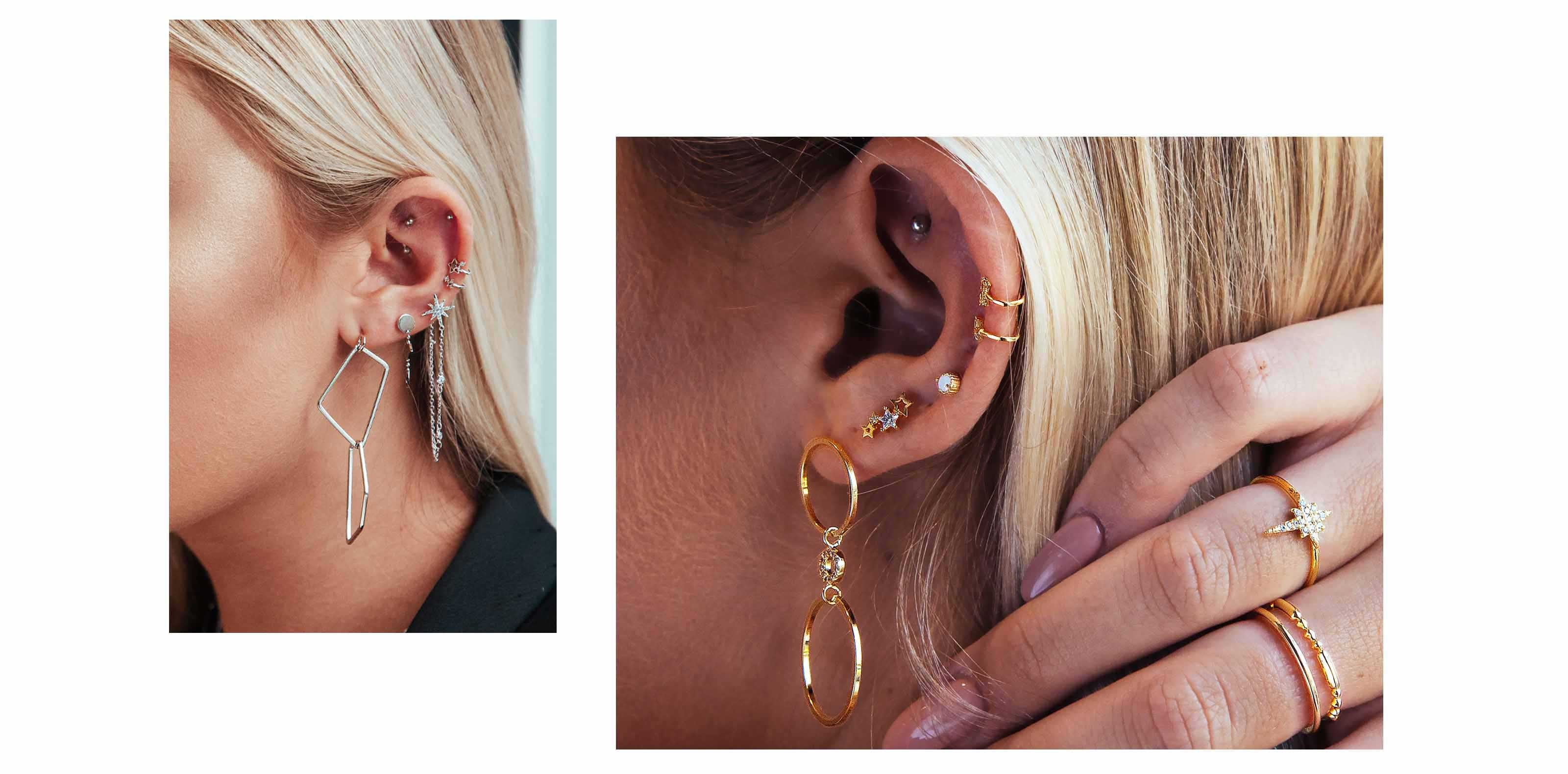 pinch & fold - curated ear piercings