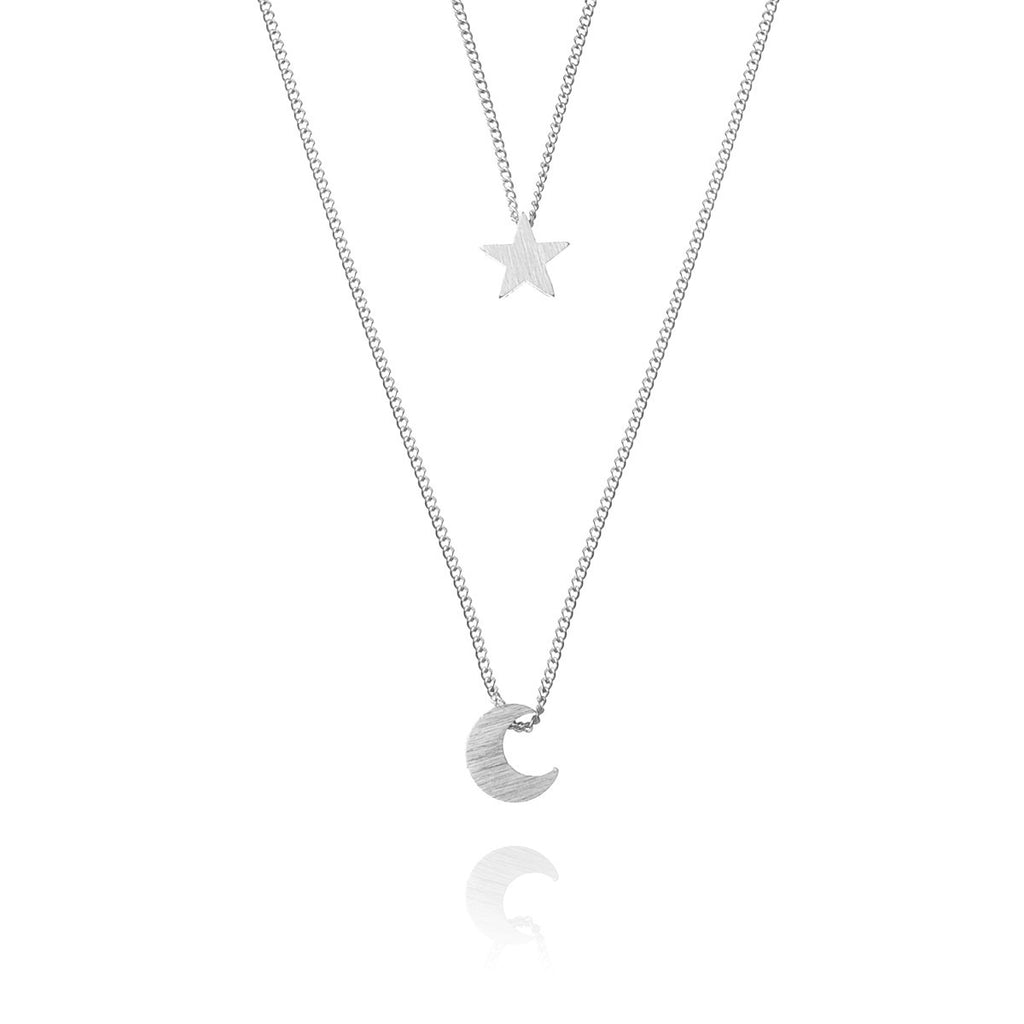 Night Child Necklace - Silver