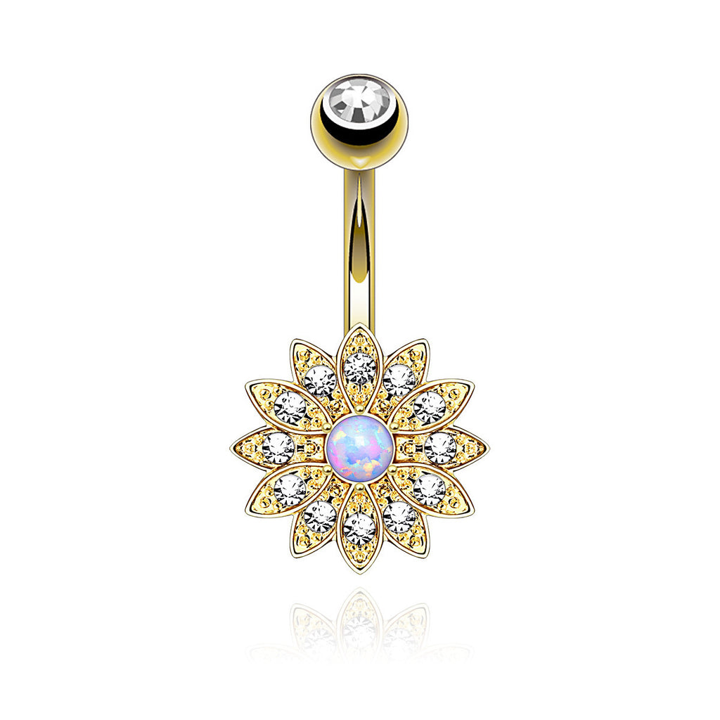 Purity Belly bar - Gold