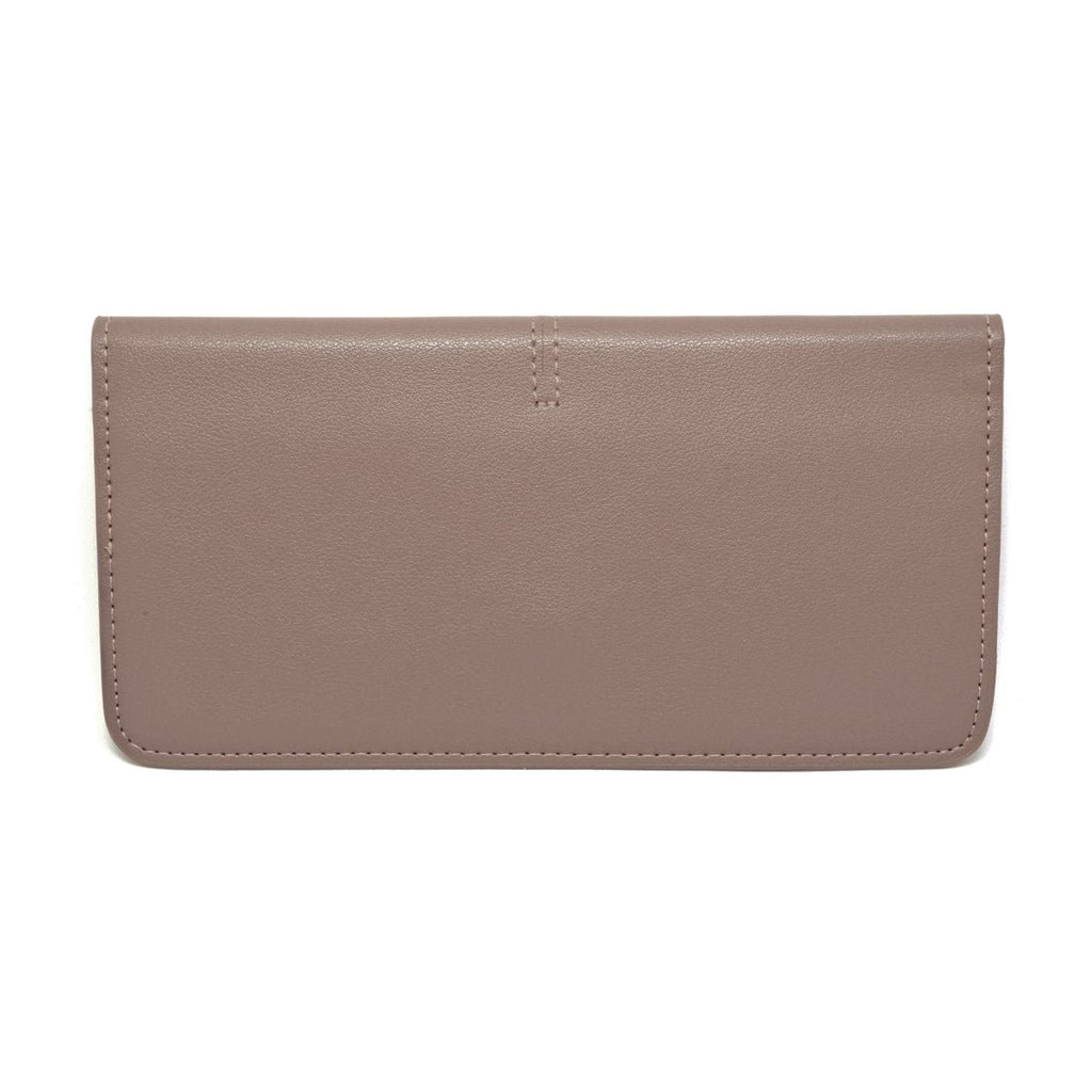 Chance Leather Wallet back - apricot