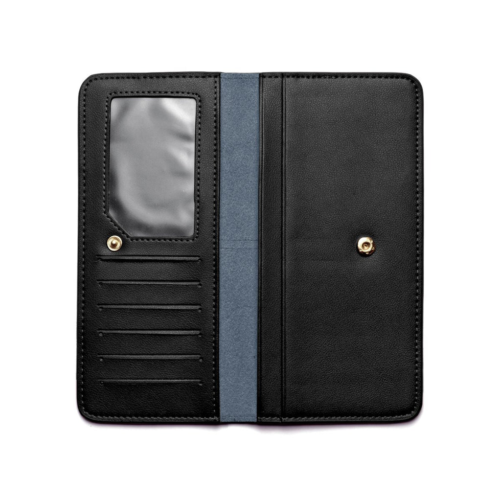 Chance Leather Wallet inside - black