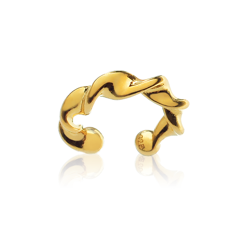 Entwine Ear Cuff - gold
