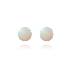 Opal Stone Stud Earrings