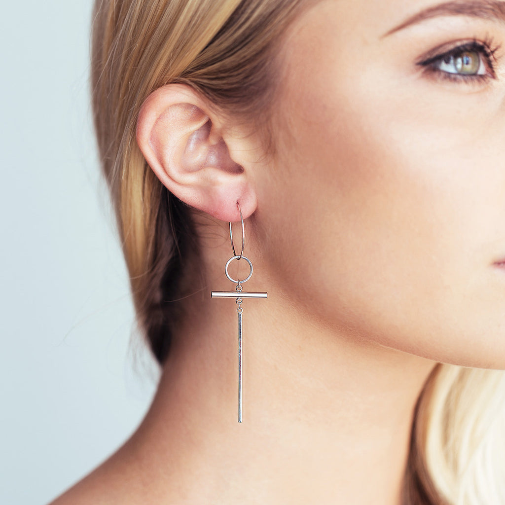 Eleanor Earrings - Silver