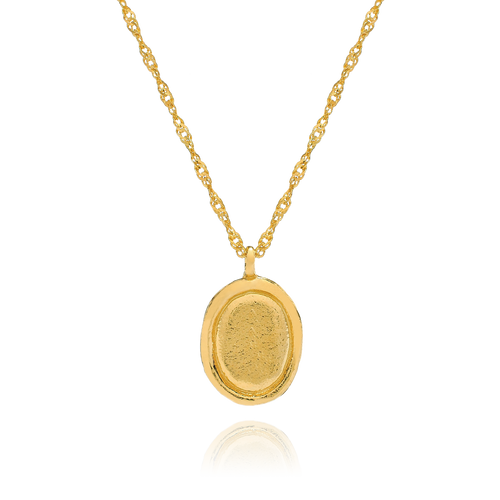 Agnes Pendant Necklace - gold